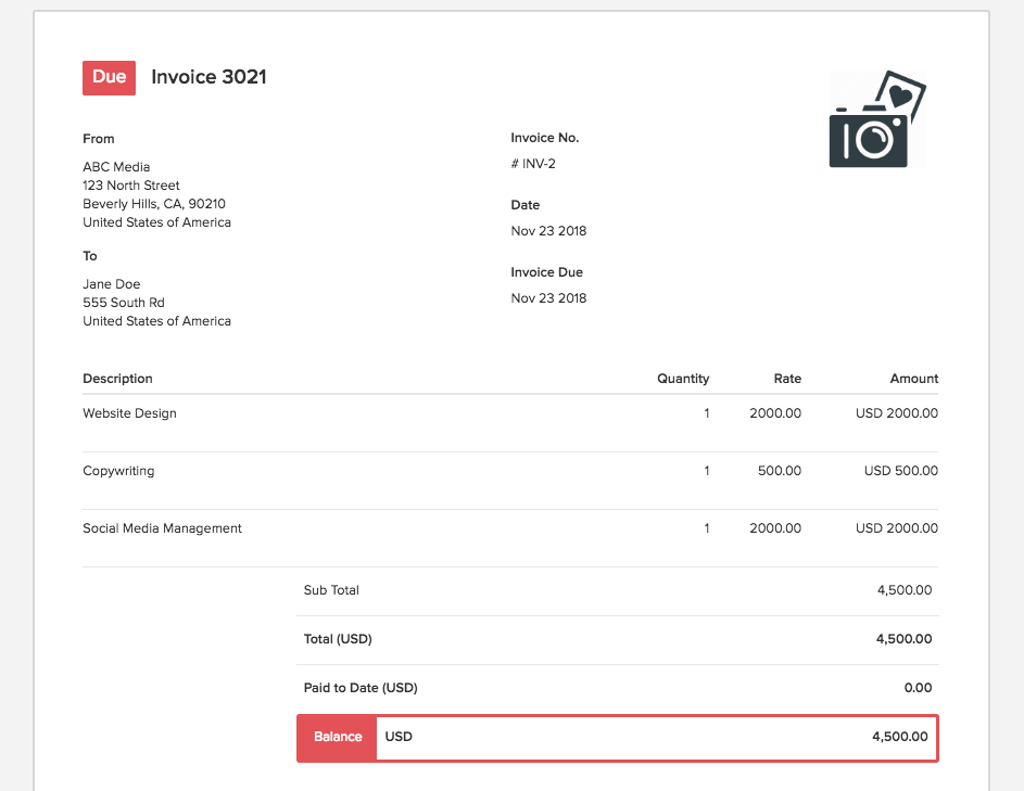 How To Create A Marketing Invoice Templates Examples